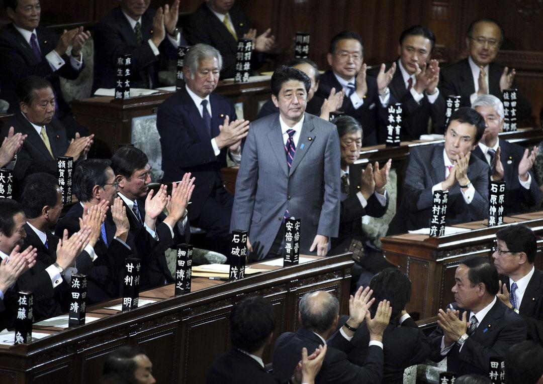 2012年12月26日,安倍晉三被就任第96任日本內閣總理大臣。