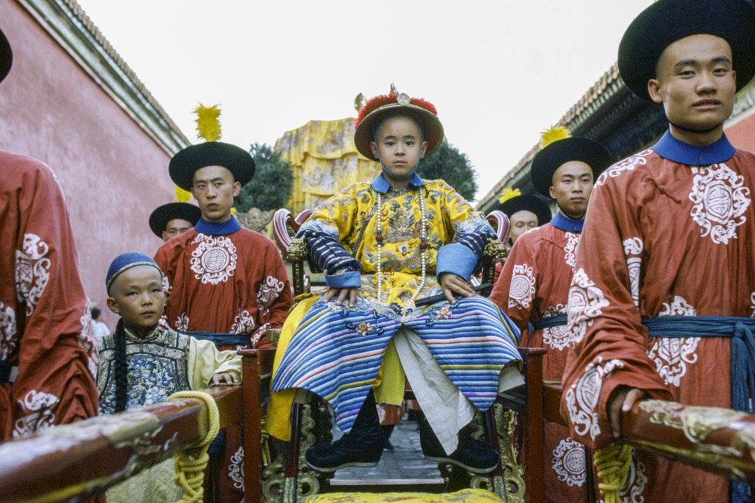 《末代皇帝》(The Last Emperor)劇照。