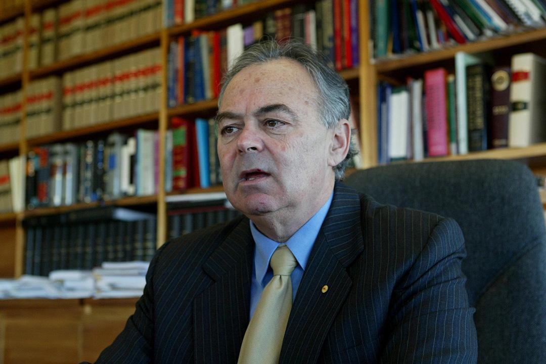 香港終審法院非常任法官施覺民(James Spigelman)。 Fairfax Media via Getty Images