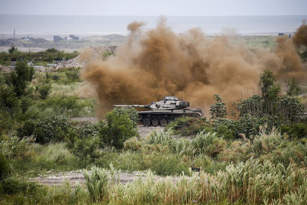 2020年7月16日,台灣在台中舉行年度軍事演習。