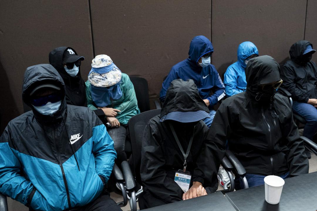 2020年9月12日,12名因涉偷渡台灣而遭內地拘留的港人家屬召開記者會。