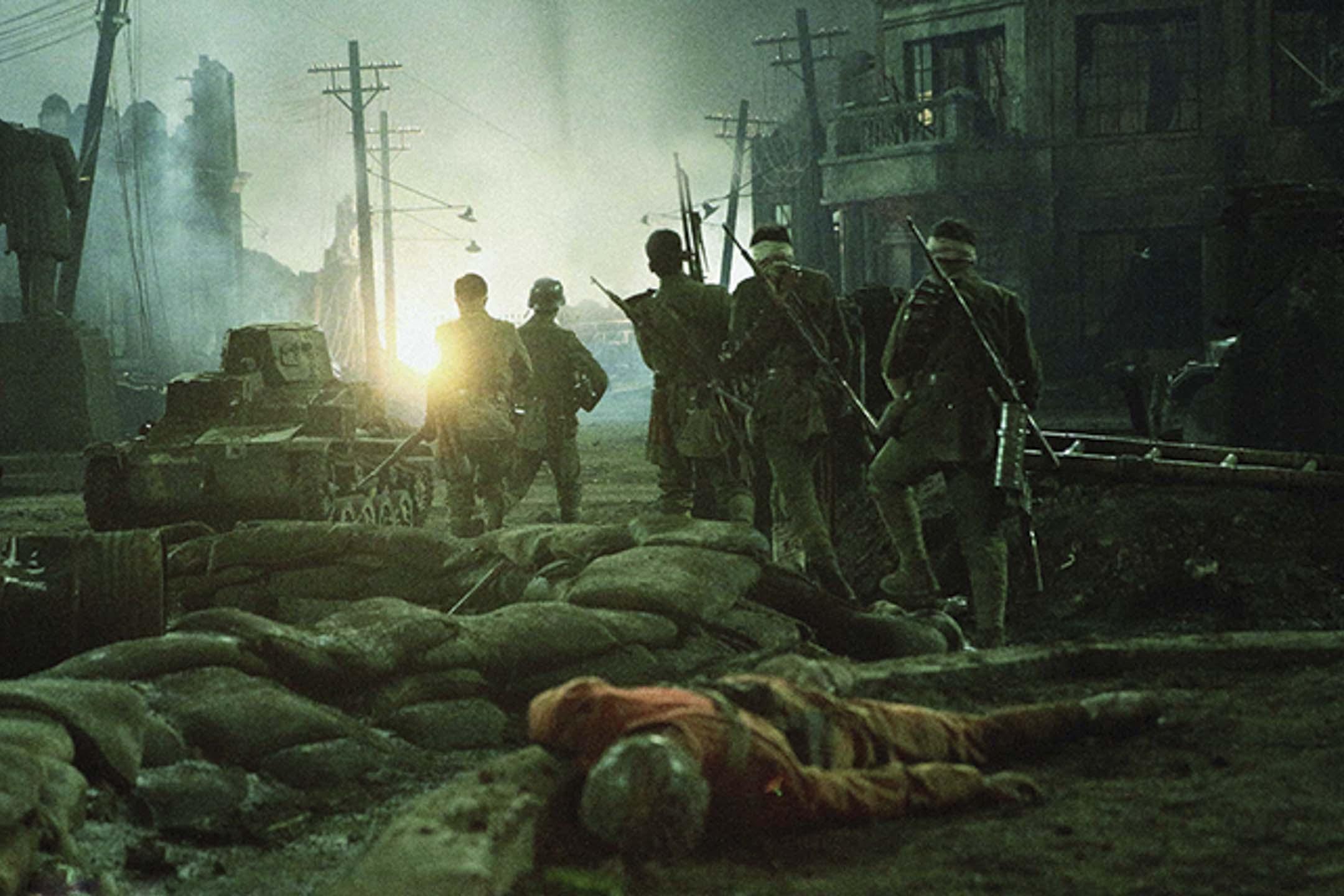 《八佰》電影劇照。 網上圖片
