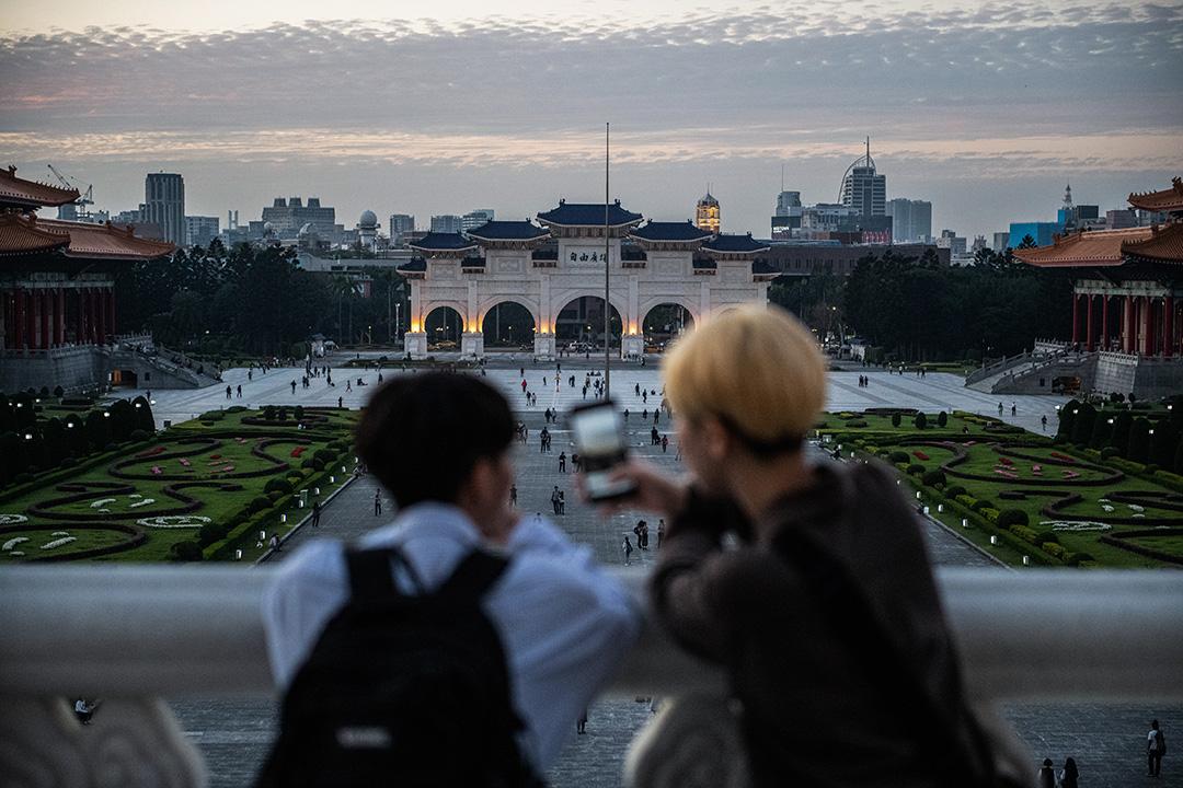 2020年1月7日,台北中正紀念堂。 攝:Carl Court/Getty Images