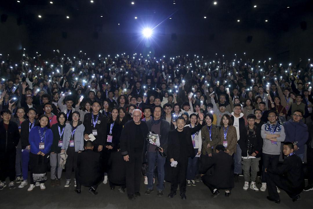 2018年,南韓導演李滄東攜作品《燃燒》參加平遙國際電影展。