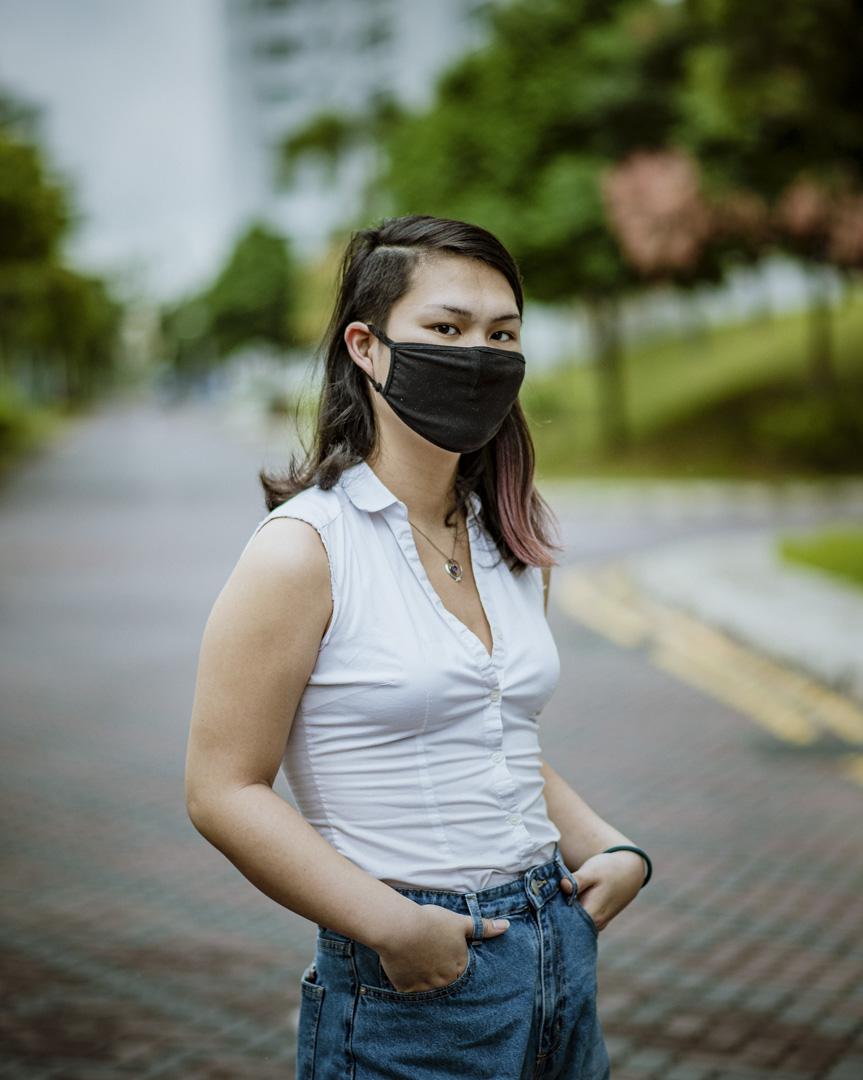 因網上活動而被警方調查的Averyn Thng。