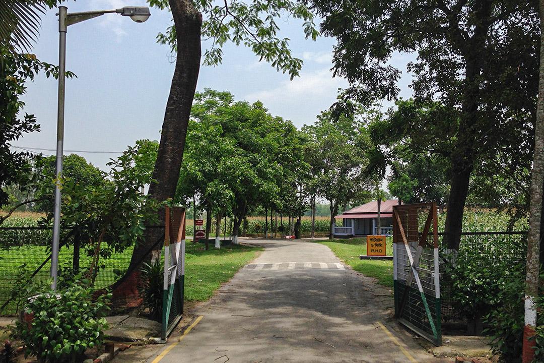 印度和孟加拉之間的「汀畢哈廊道」(Tin Bigha Corridor)。