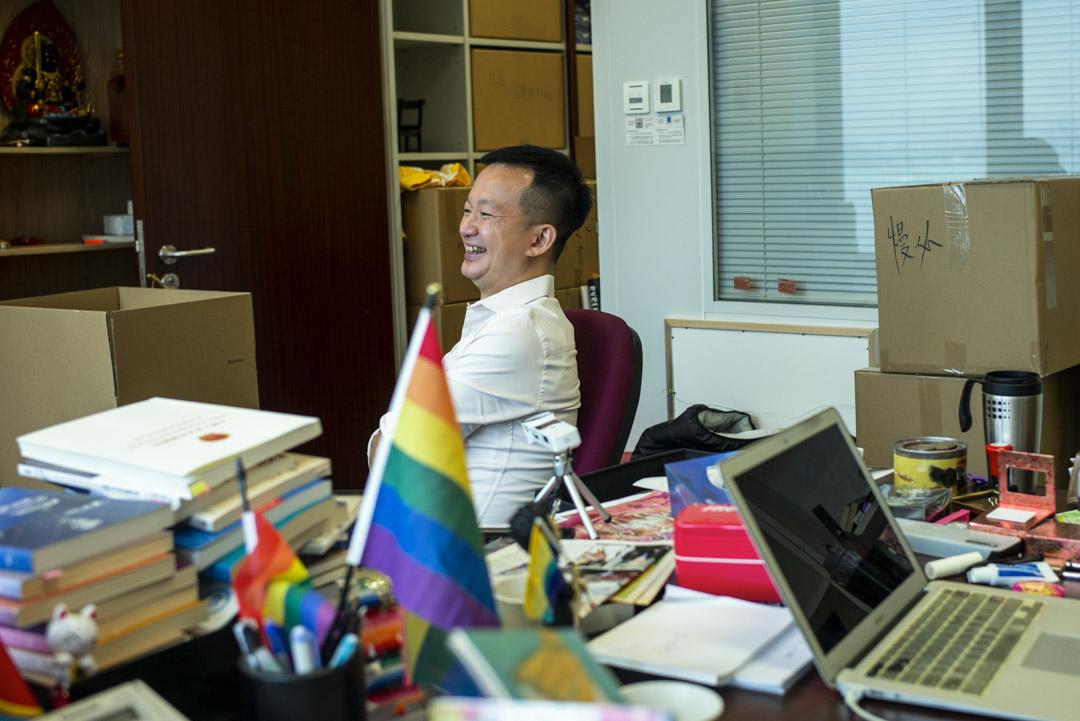 陳志全是兩岸三地中,第一位公開同志身份的香港議員。