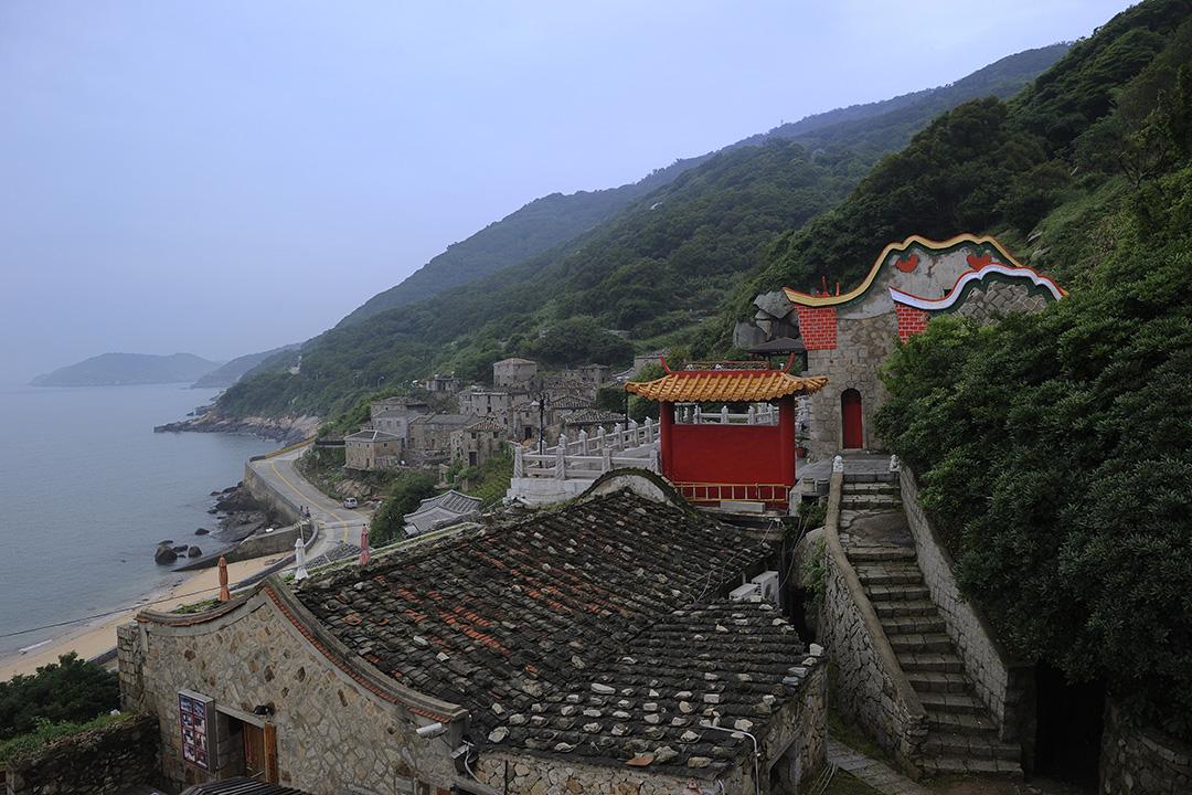 2013年5月9日,台灣連江縣的村莊。
