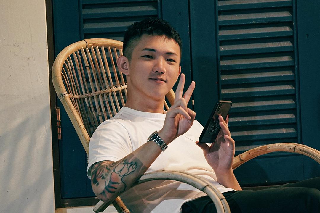 台灣網紅作家黃山料。 圖:黃山料 Facebook。