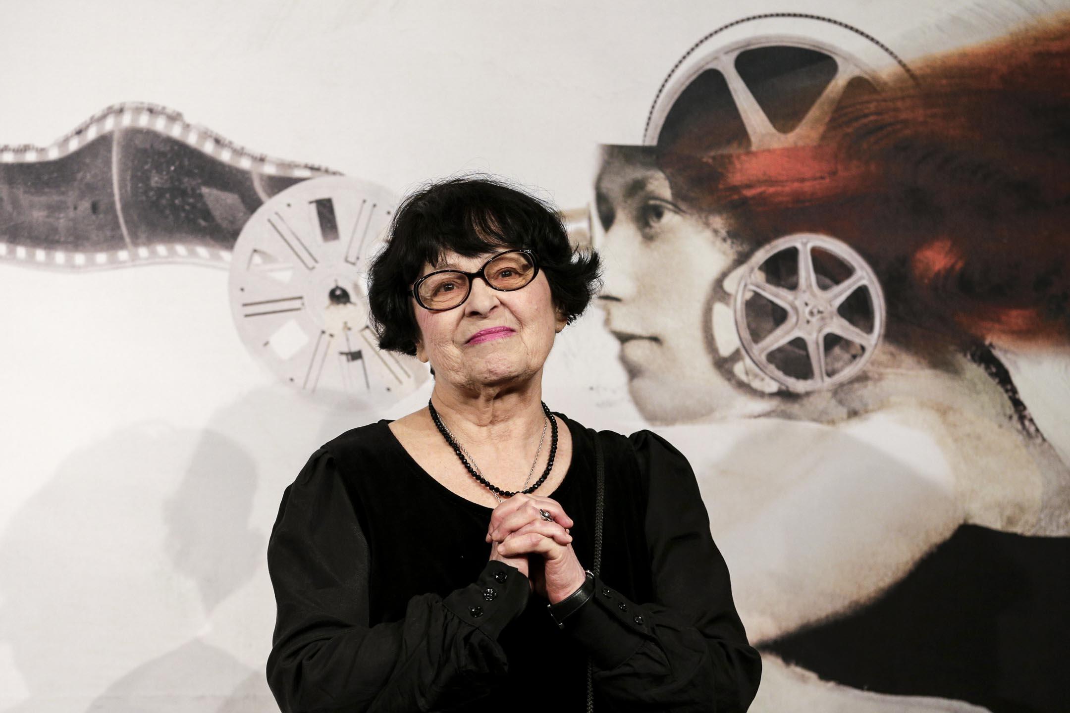 烏克蘭女導演琪拉・穆拉託娃(Kira Muratova,1934-2018)。 攝:Max Rossi/Reuters/達志影像