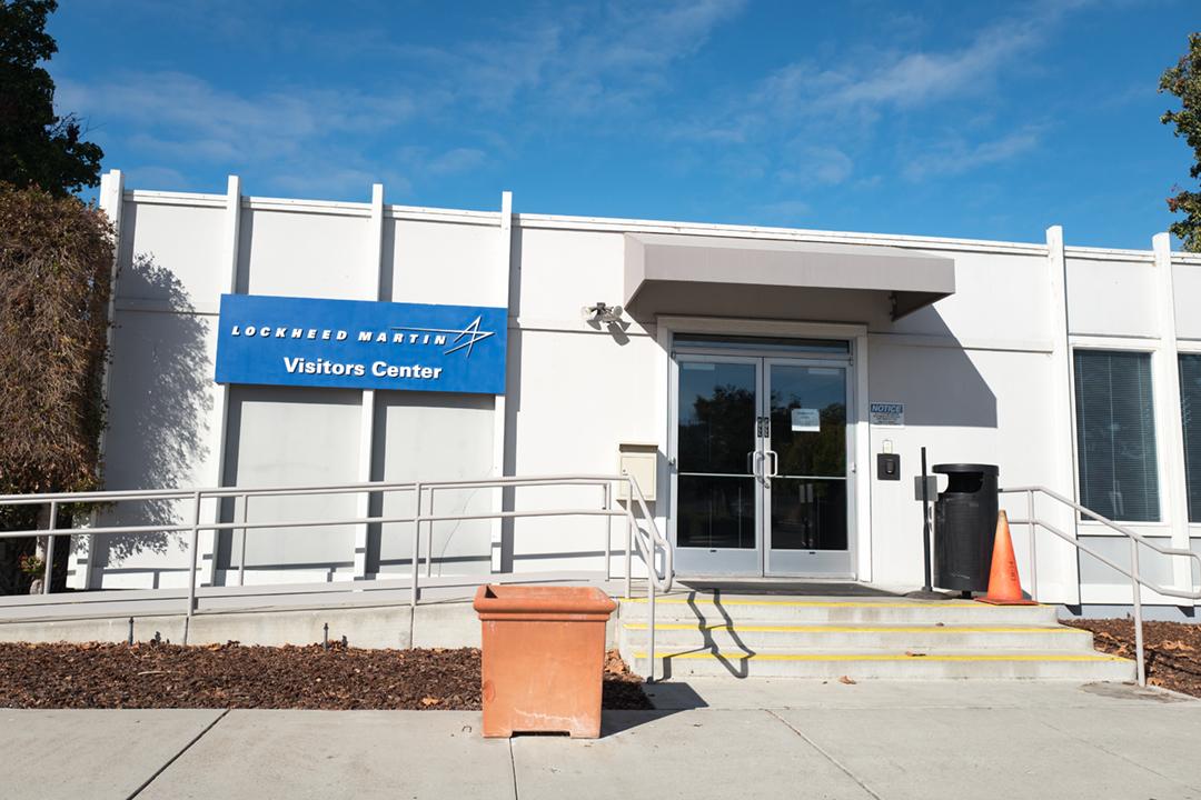 2020年10月26日,中國外交部宣佈制裁洛歇馬丁(Lockheed Martin)等「在對台售武過程中發揮惡劣作用的」美國企業、個人和實體。圖為洛歇馬丁位於加州矽谷的區域總部。 攝:Smith Collection / Gado / Getty Images