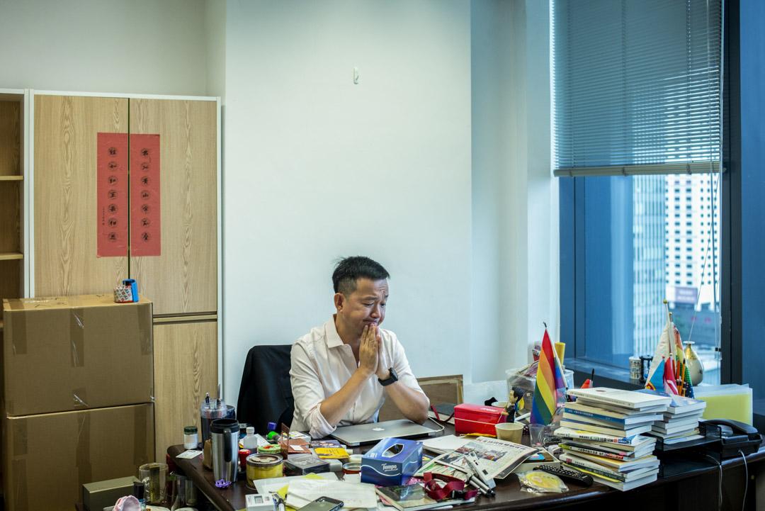 陳志全打從決定從政的一刻起,他就希望在抗衡建制的同時,改革民主派的作風。