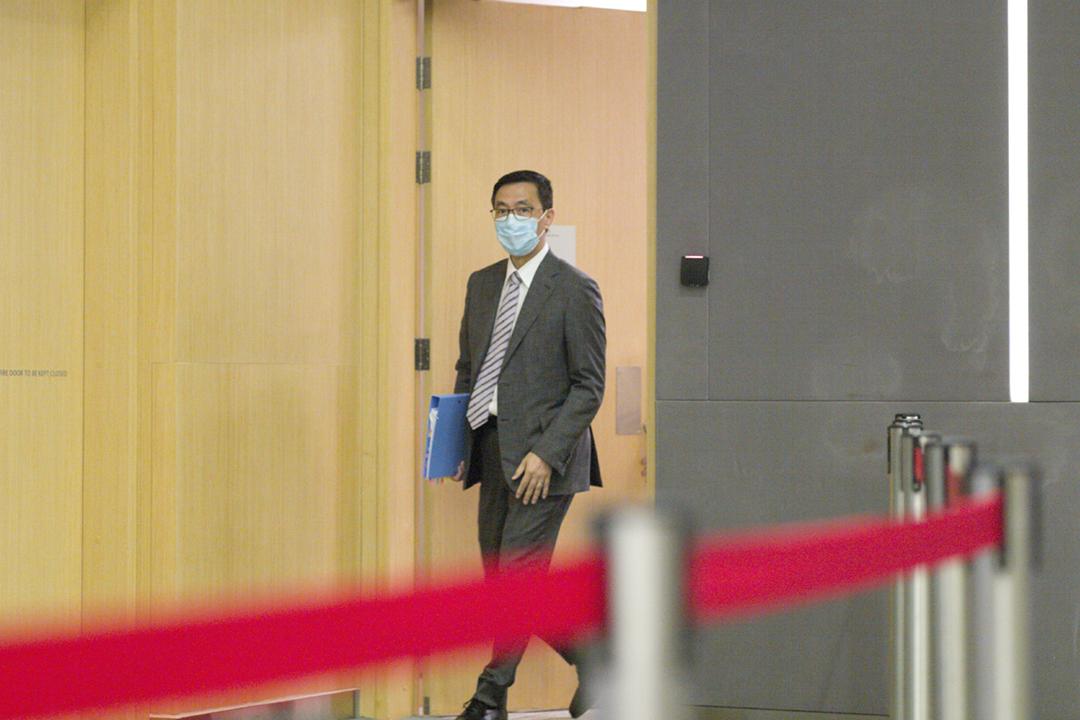 香港教育局局長楊潤雄。 圖:端傳媒