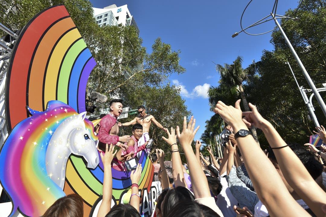 2020年10月31日,台灣同志遊行。 攝:李昆翰/端傳媒