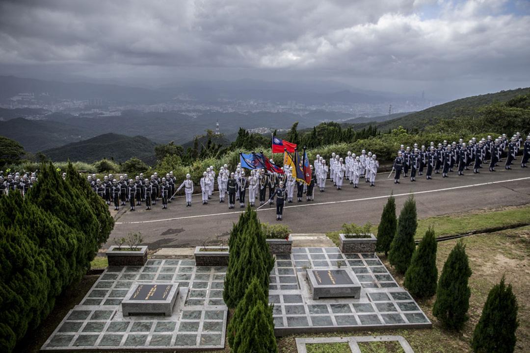 2020年10月7日,前總統李登輝今在五指山國軍示範公墓舉辦「奉安典禮」。