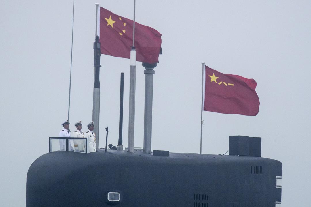 2019年4月23日,解放軍海軍新型094A晉級核潛艇參加海軍閲兵式,以紀念中國人民解放軍海軍成立70週年。