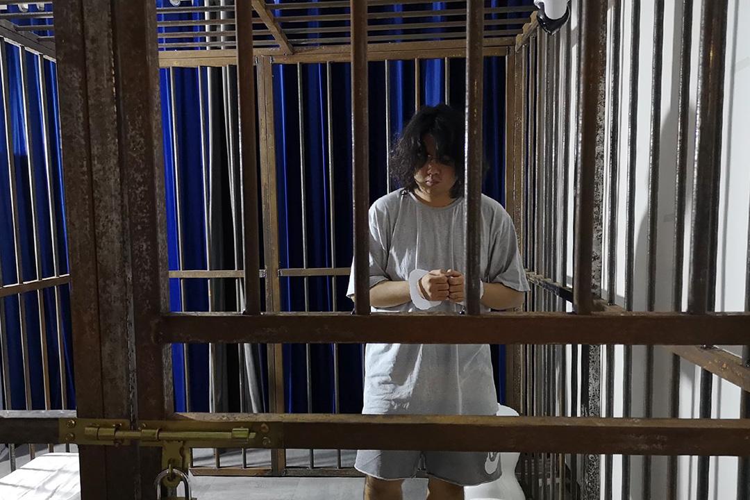 「飢餓藝術家」計劃的學生馮瀚辰。