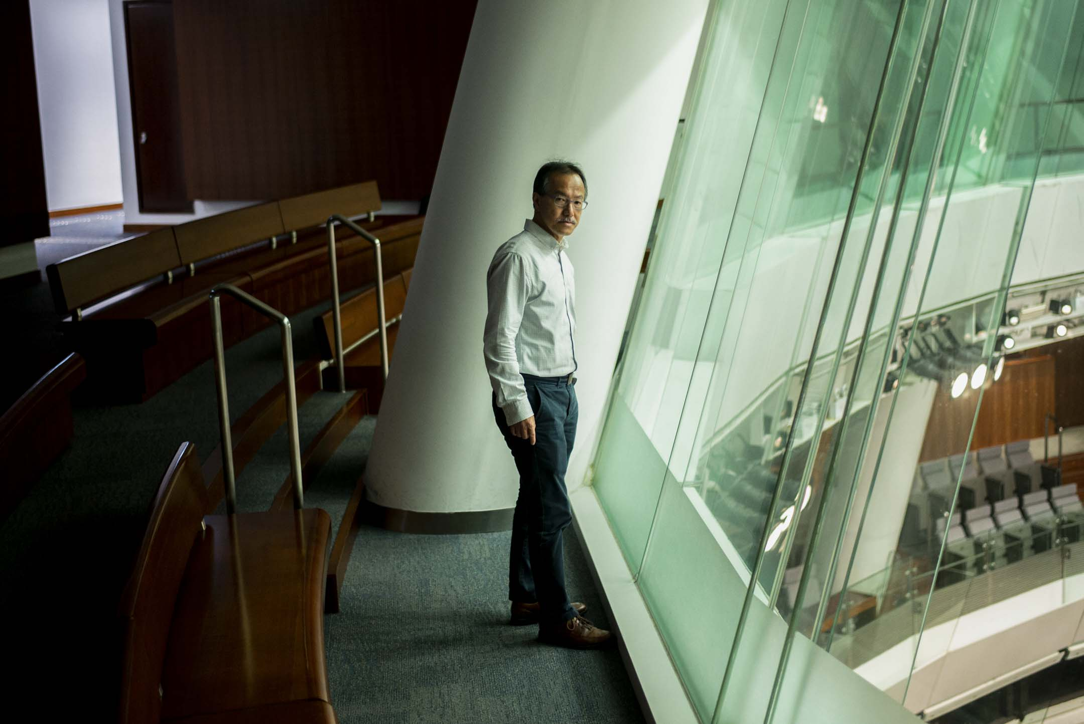 立法會議員張超雄。 攝:林振東/端傳媒