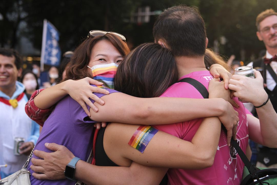 2020年10月31日,台灣同志遊行。