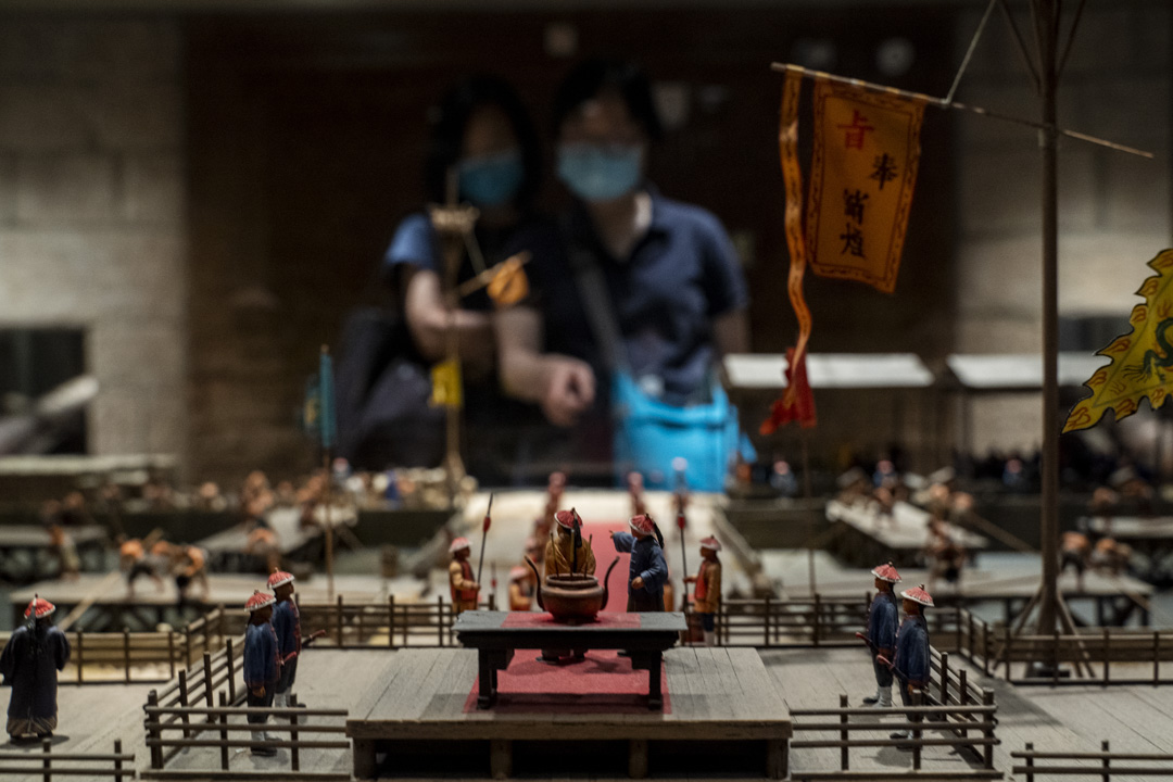 鴉片戰爭及香港的割讓。
