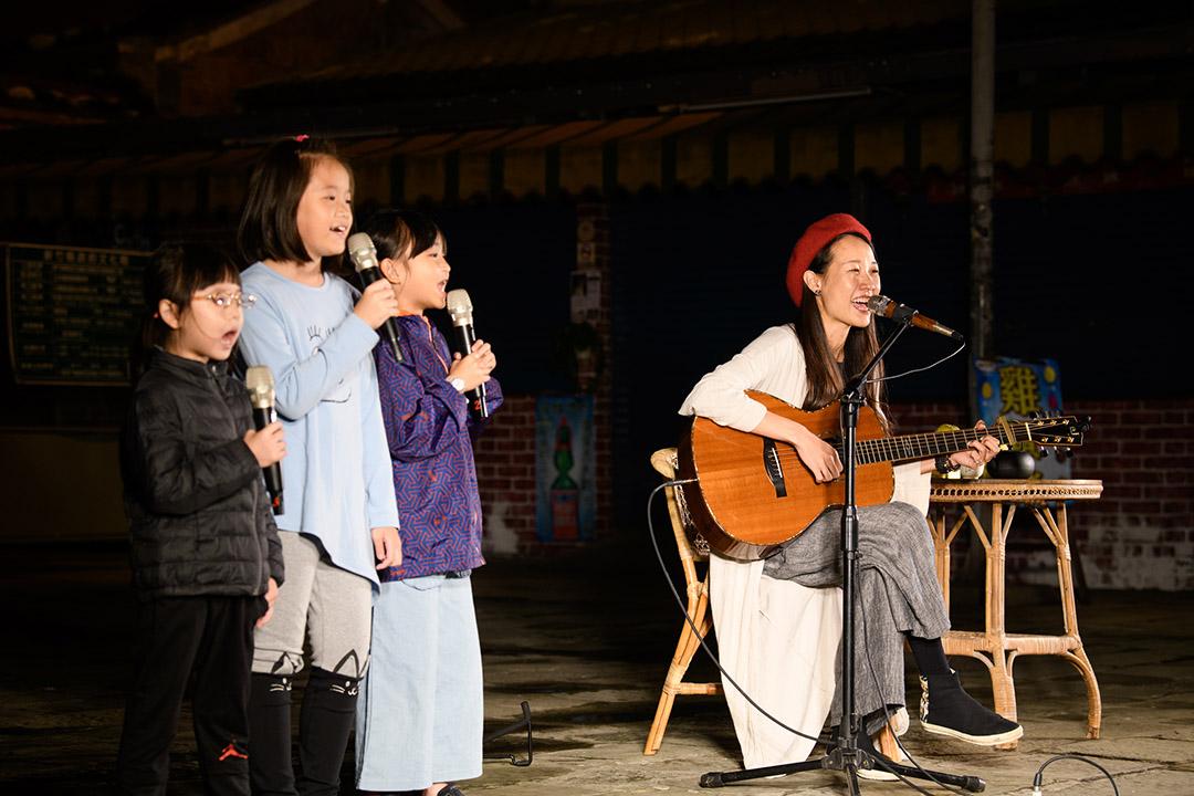 客家歌手米莎。