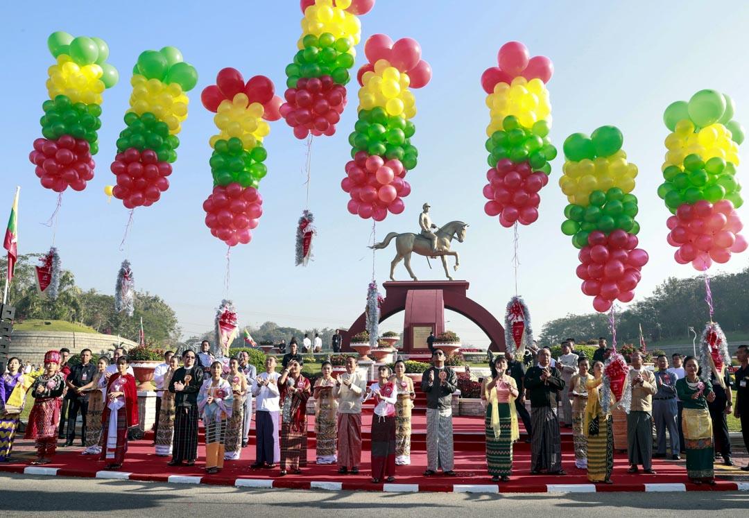 2020年2月13日,昂山素季父親的昂山將軍雕像在首都內比都揭幕,以紀念他誕辰105週年。