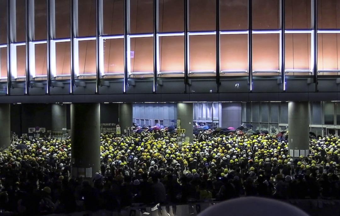 《佔領立法會》影片截圖。
