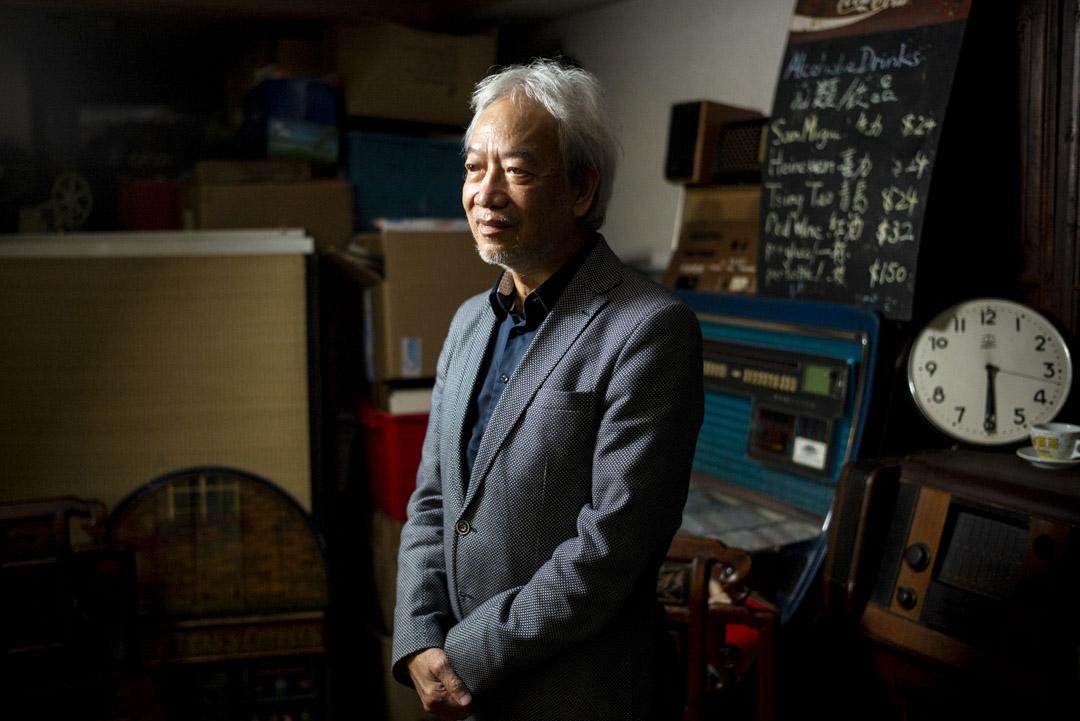 香港餐飲業協會會長黃家和。