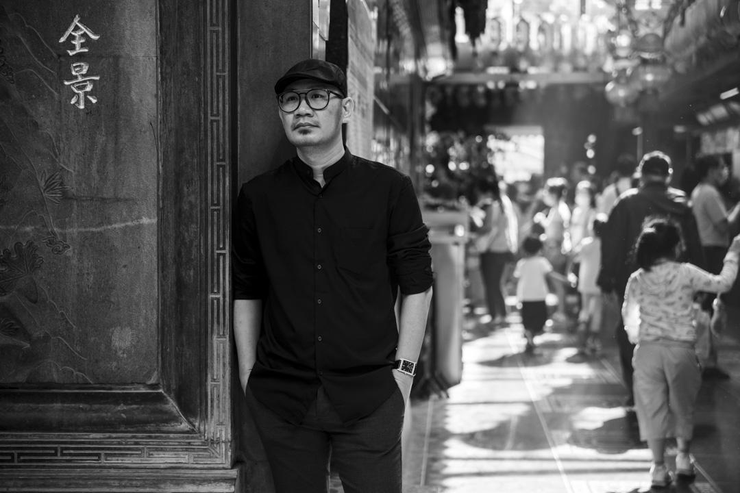 金馬獎最佳新導演得主、《南巫》導演張吉安。 攝:張國耀/端傳媒