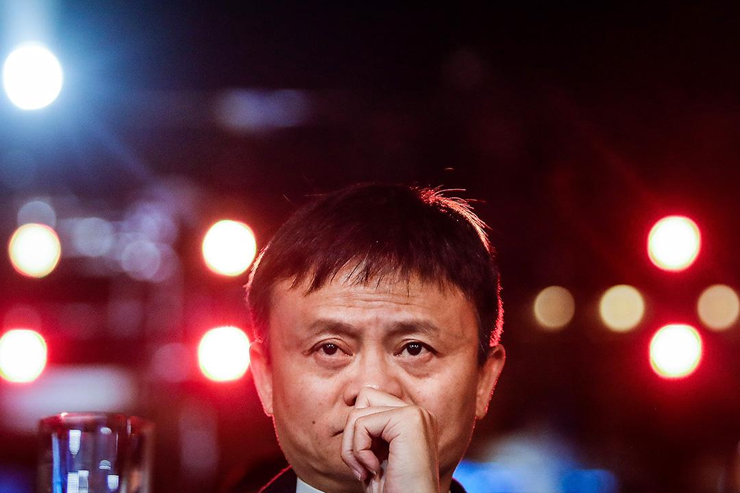 2018年1月21日中國三亞,阿里巴巴集團創始人兼董事長馬雲在「馬雲農村教師獎」頒獎典禮。