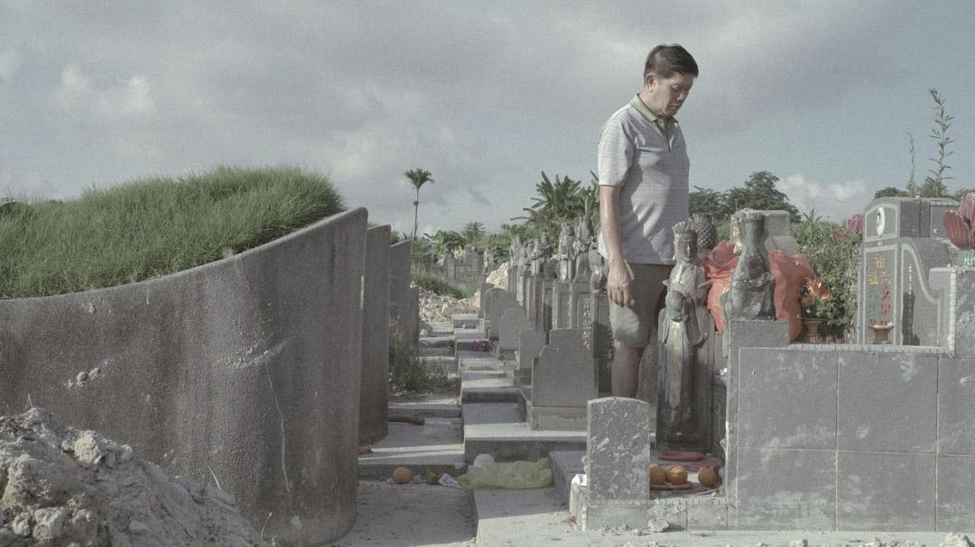 《一抔黃土》電影劇照。