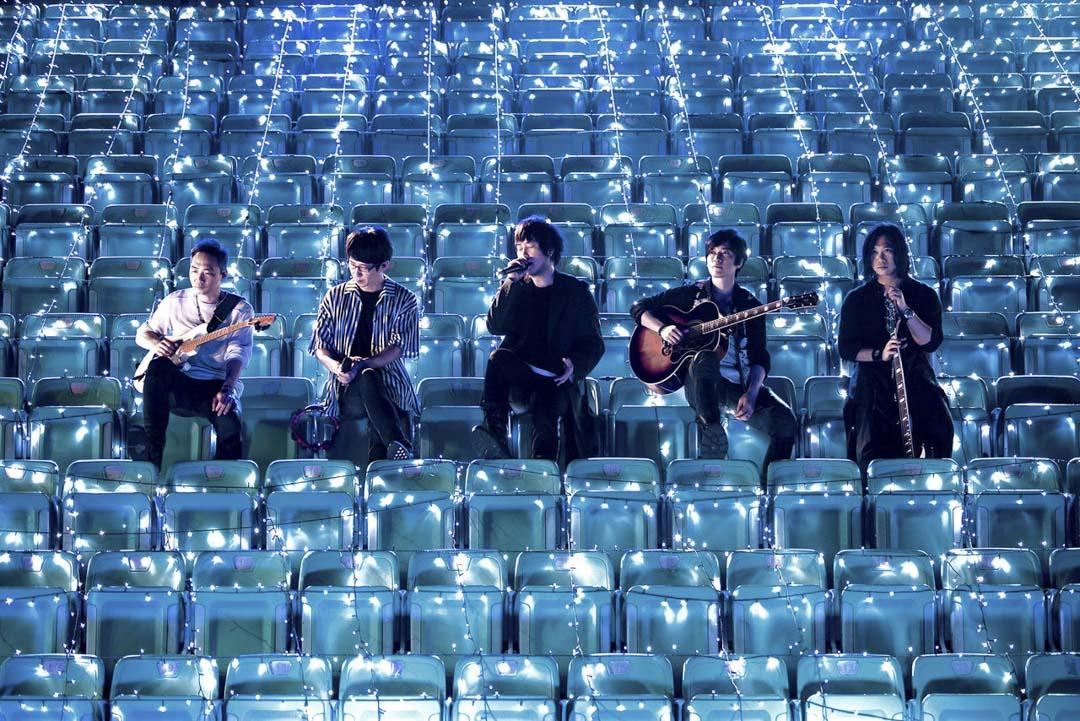 2020年5月31日,台灣樂隊五月天舉行線上演唱會。 圖:五月天 Mayday Facebook