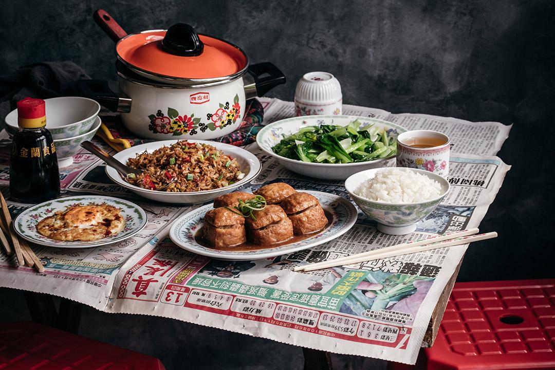 李宛蓉的食物造型作品。