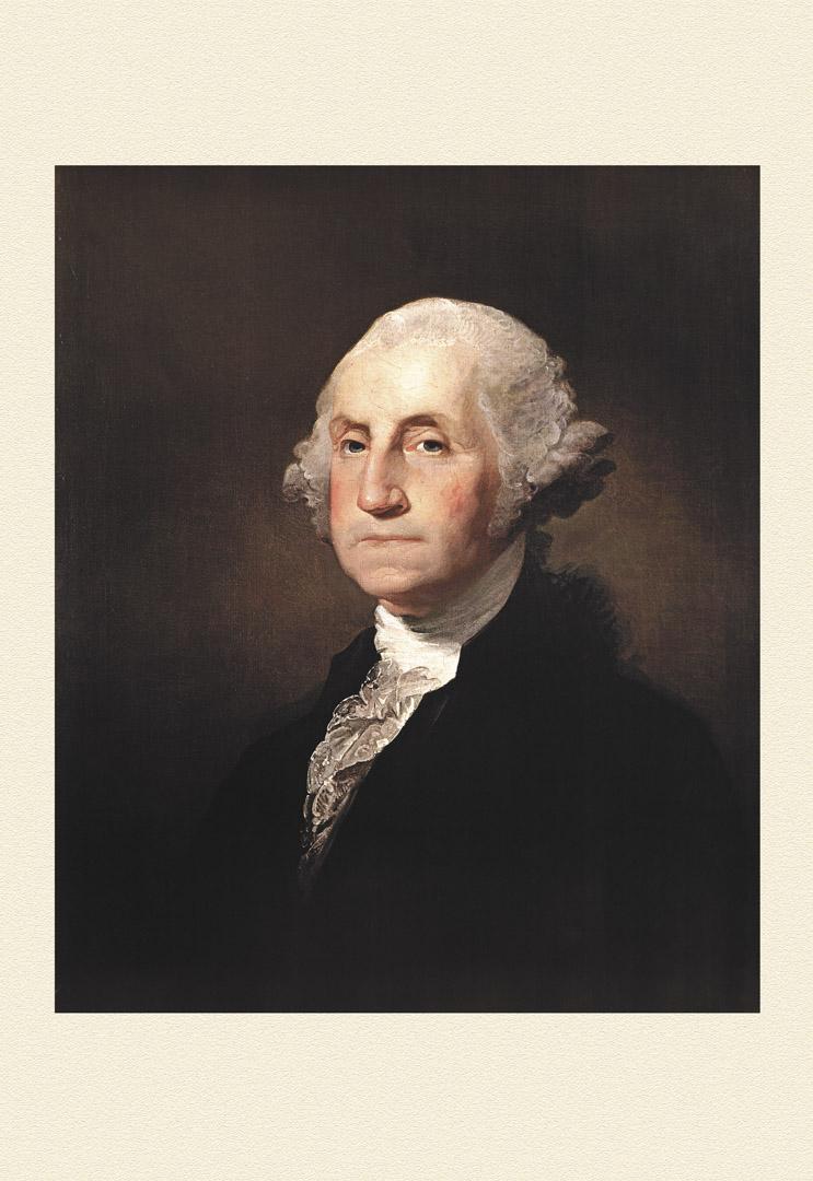 美國國父喬治·華盛頓。
