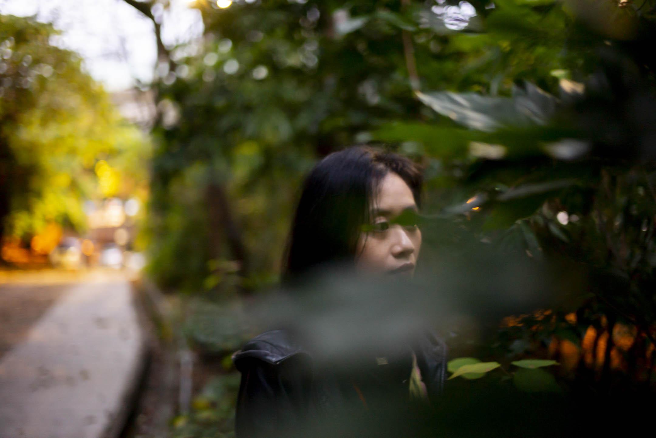 紀錄片《迷航》導演李哲昕。 攝:林振東/端傳媒