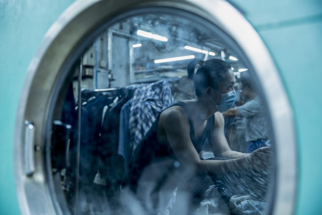 洗水廠員工阿威。