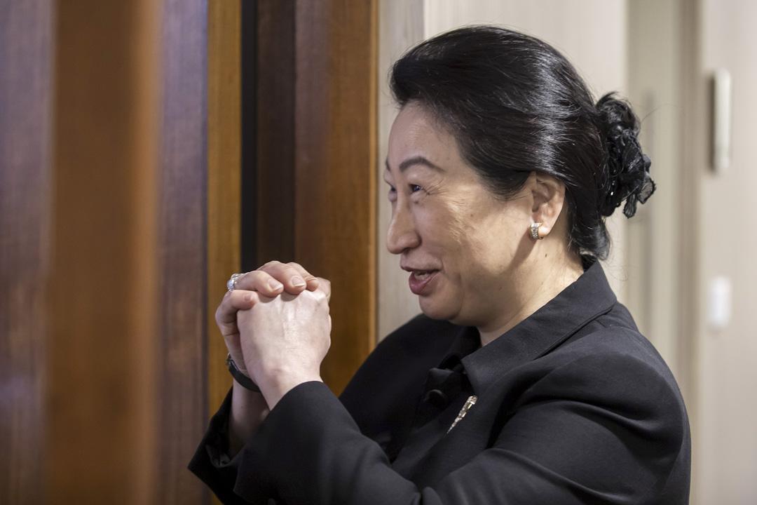 2020年6月18日,律政司司長鄭若驊接受彭博新聞訪問。