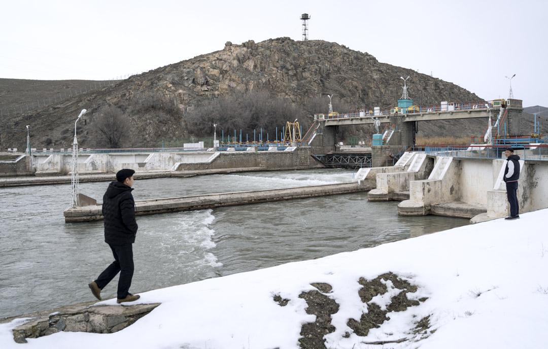 2020年1月3日,吉爾吉斯斯坦, 米爾方是東干的一個村莊。第一定居者都是農夫,他們都住在水分十足的翠河(Chui River)附近。