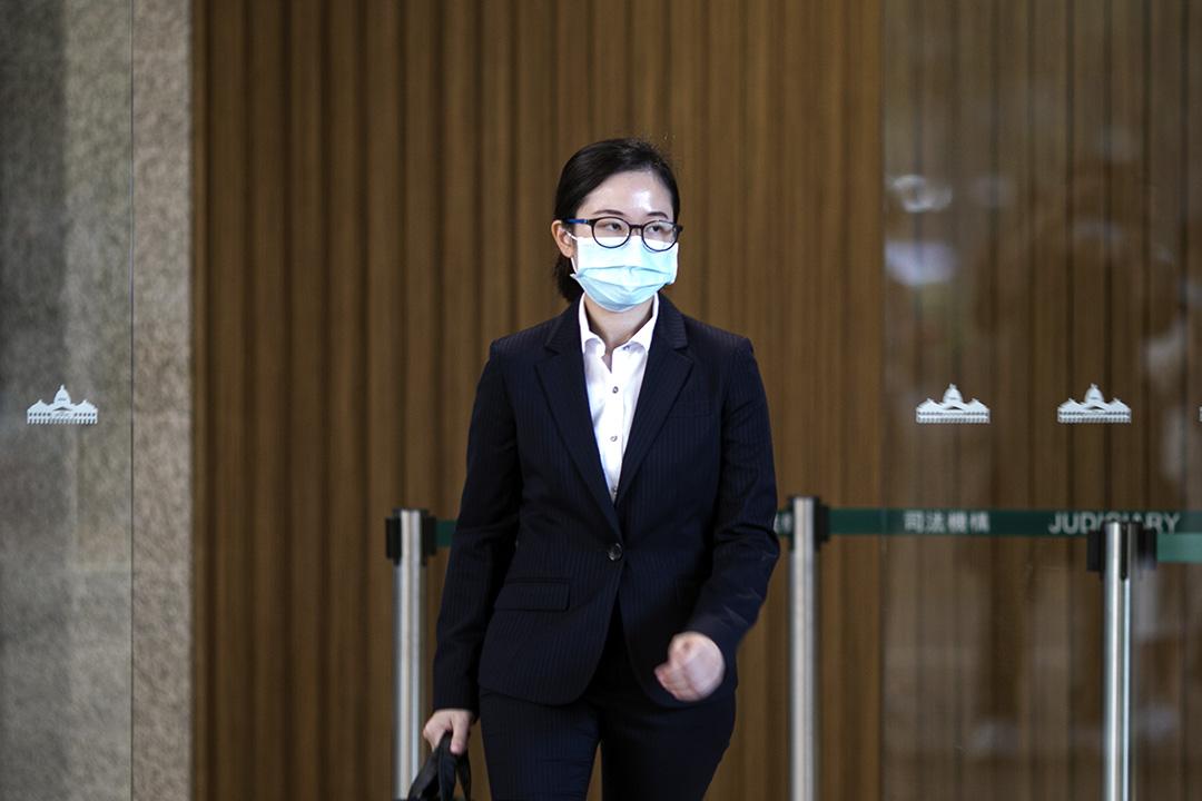 2020年11月16日,東九龍機動部隊 D2 指揮官的高級督察葉寶琪出庭作證。