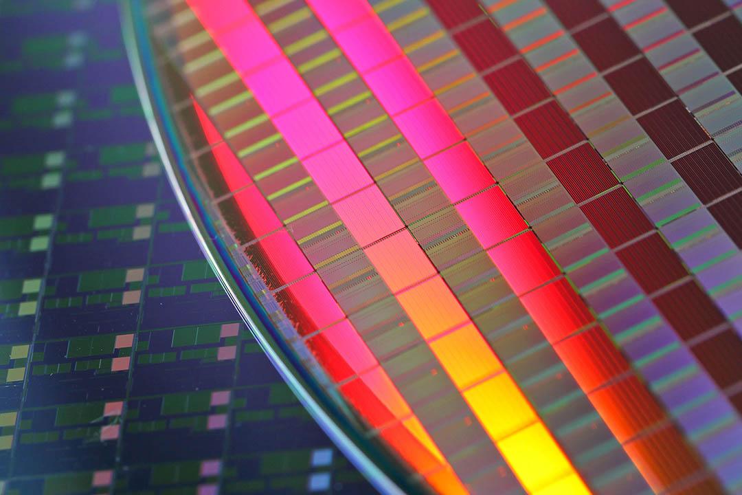 2013年1月16日,台灣積體電路製造有限公司(TSMC)生產的晶片。
