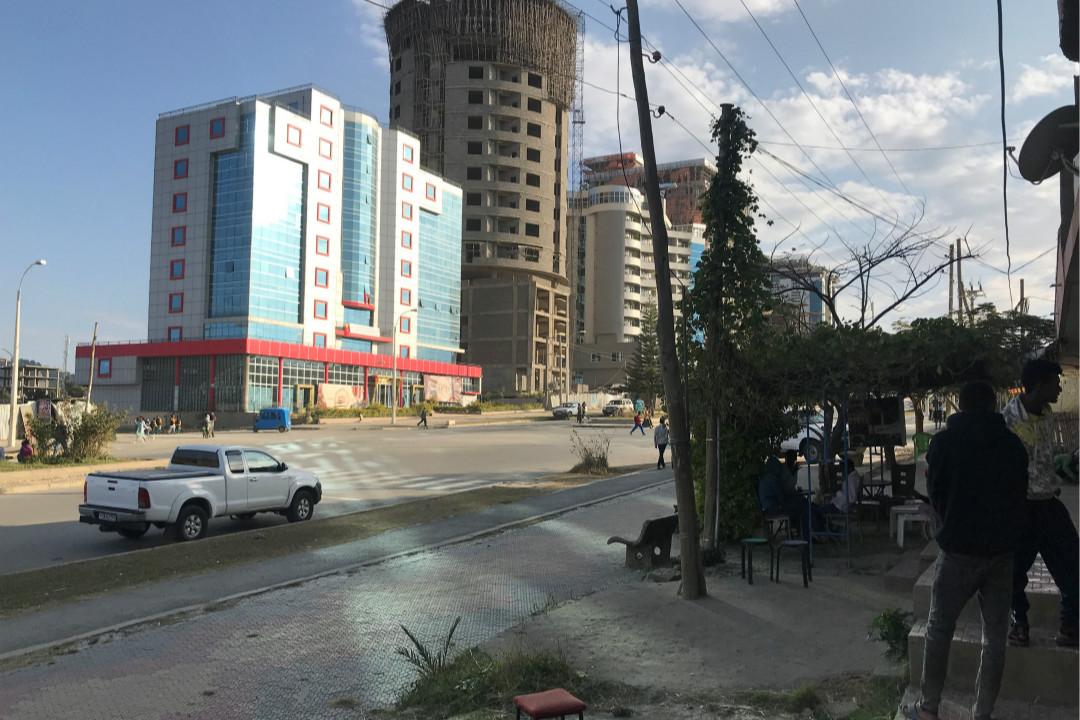 2018年,埃塞俄比亞北部提格雷州(Tigray)首府默克萊(Mekelle)街頭景象。 攝:Maggie Fick/Reuters