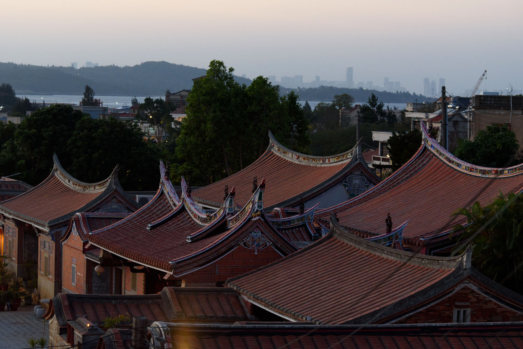金門的閩式古厝。 攝:李昆翰/端傳媒