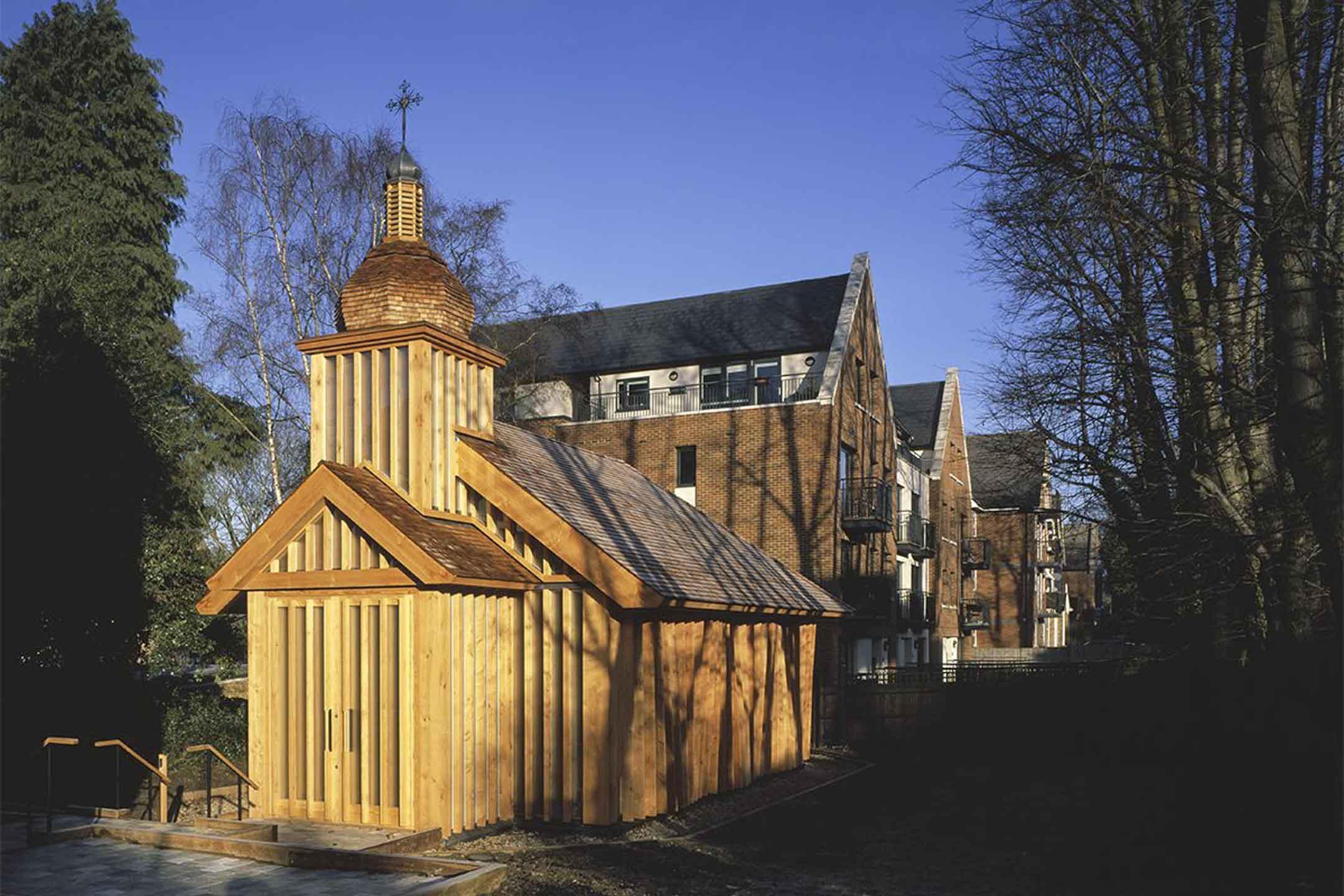 白羅斯紀念教堂。 圖:作者提供