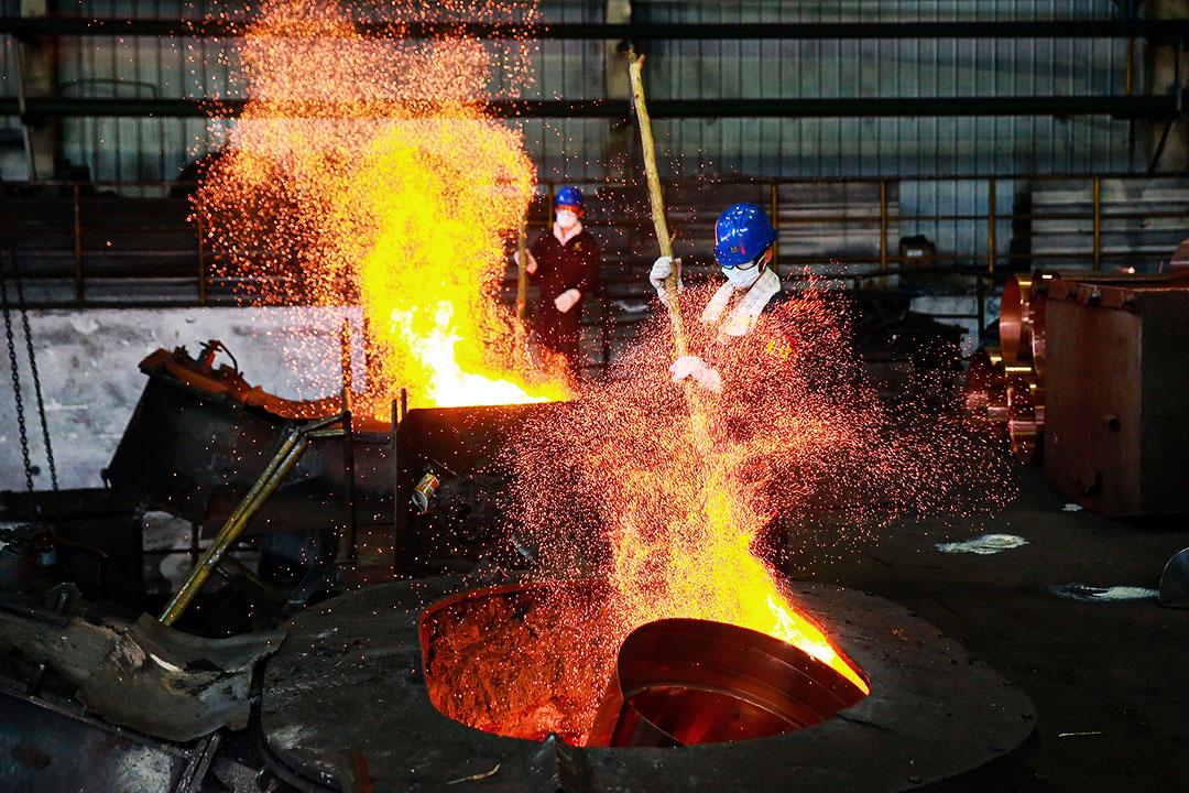 2020年7月23日中國浙江冶煉廠。