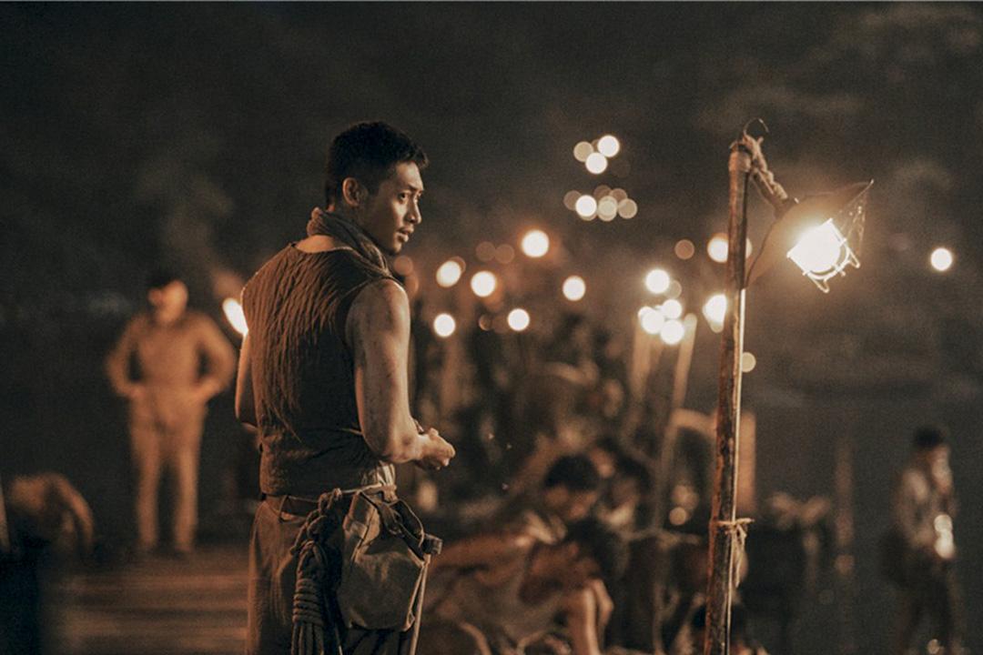 《金剛川》電影劇照。