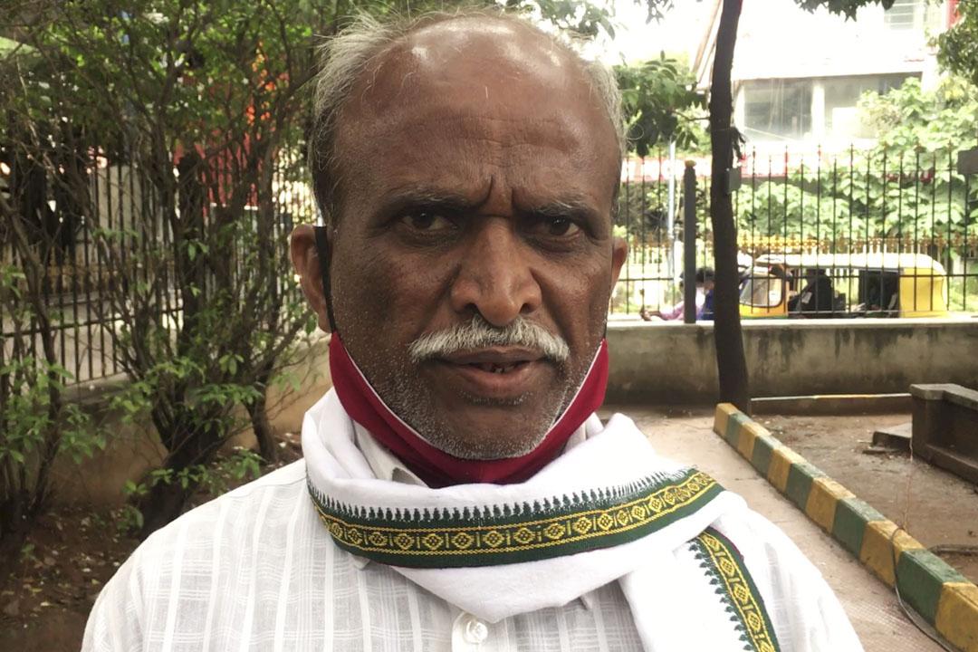 農民西萬納徳·喬基(Shivanand Jogi)。
