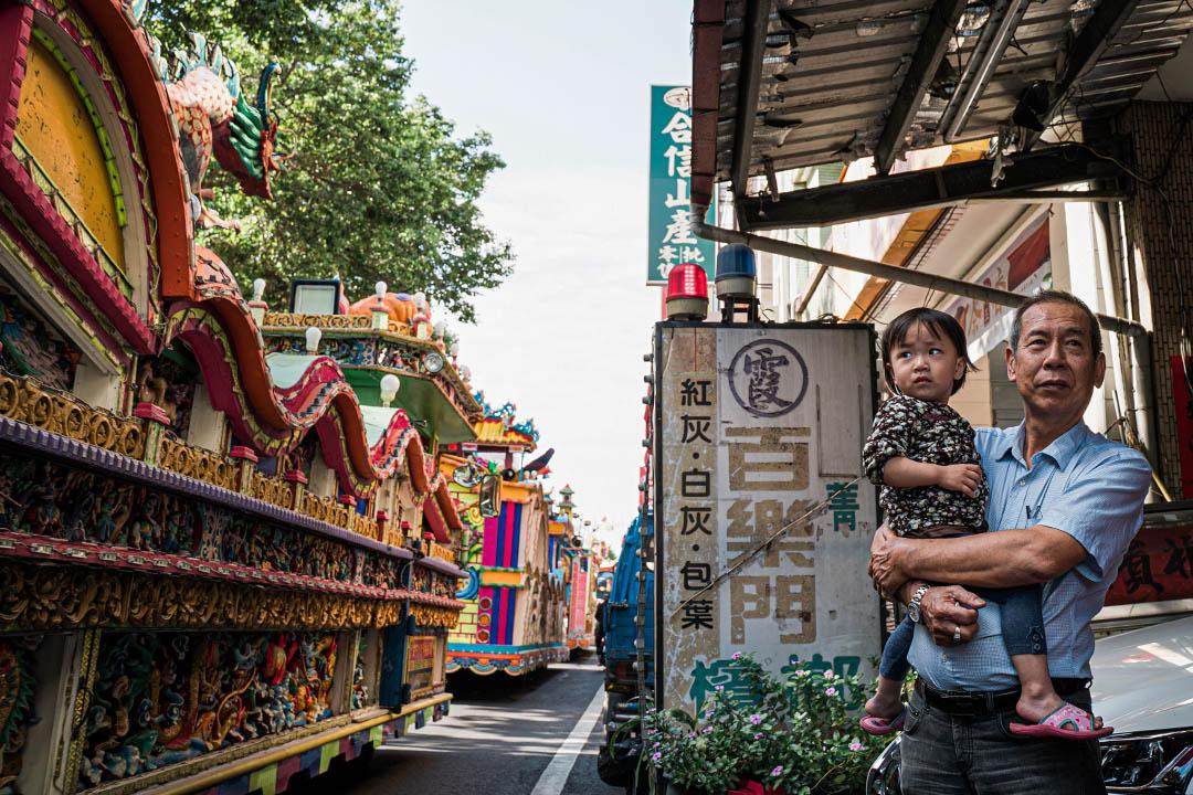 一連七天,埔里全鎮居民多高度參與在祭典儀式當中。