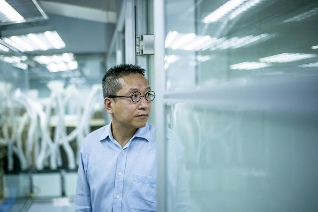 中科興業董事總經理潘焯鴻。