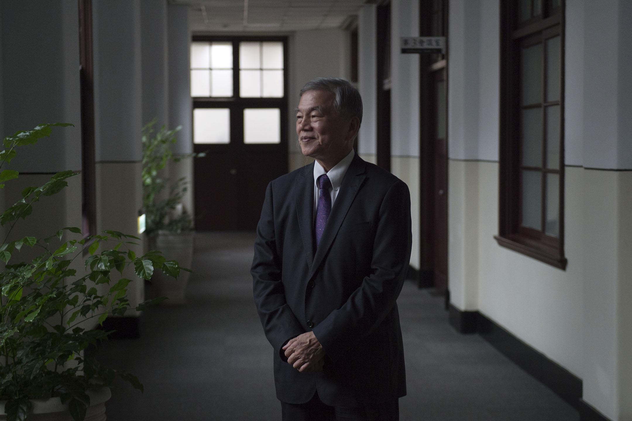 行政院副院長沈榮津。 攝:林彥廷/端傳媒