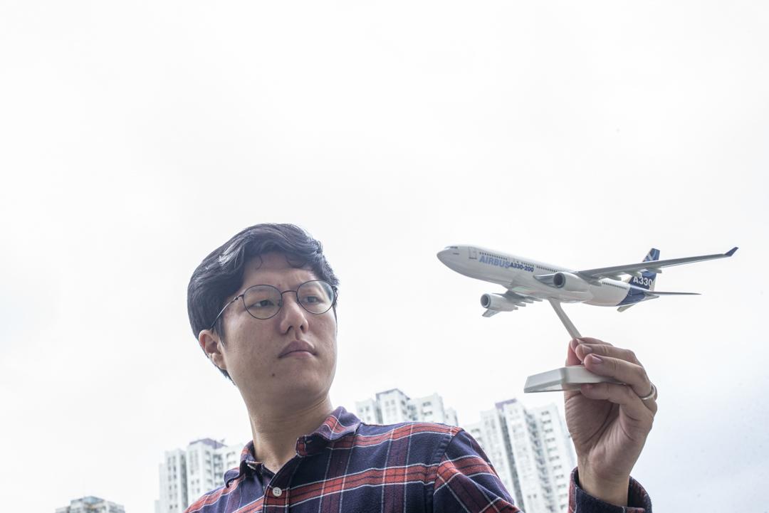 香港機場發展關注網絡發言人巫堃泰。